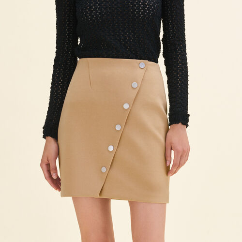 Short skirt with press studs - Skirts & Shorts - MAJE