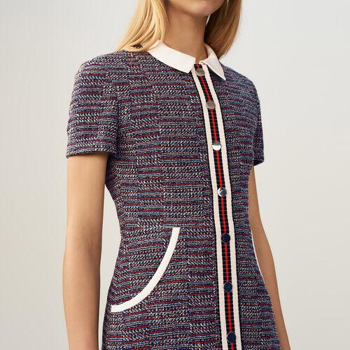 Tweed dress : Dresses color Jacquard