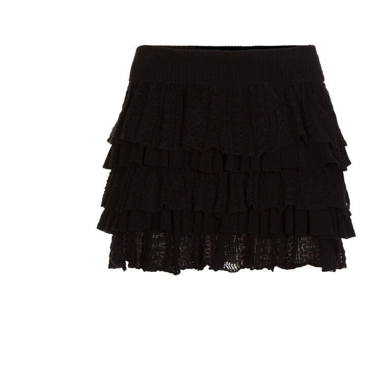 Short flounced skirt : Copy of Sale color