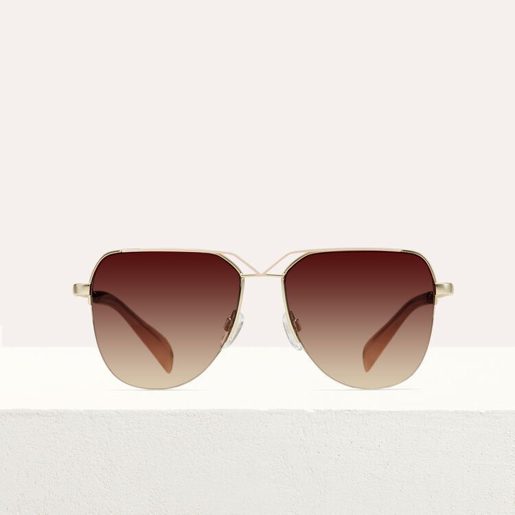Aviator sunglasses : Sunglasses color Pink