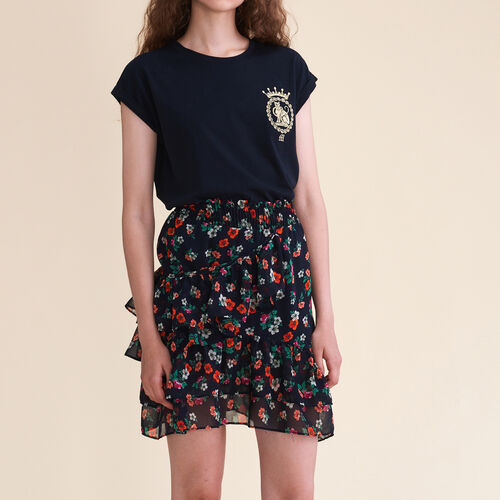 Printed skirt - Skirts & Shorts - MAJE