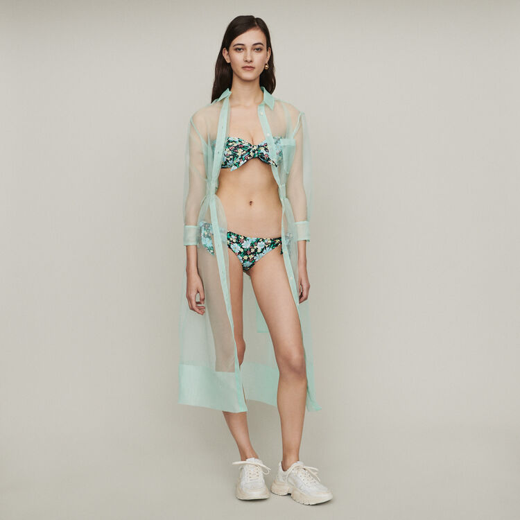 Buster two-piece printed swimsuit : Swimsuits color Printed