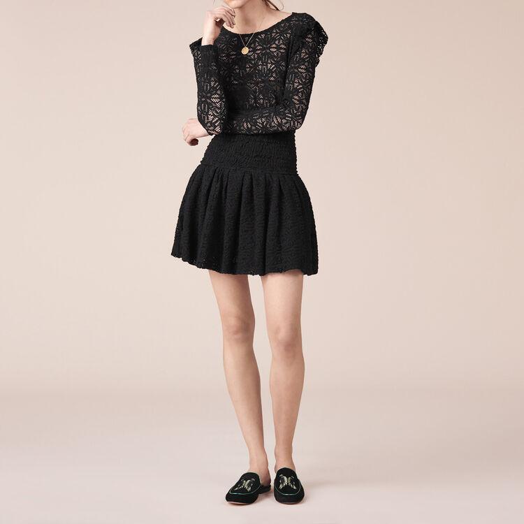 Short lace dress : Warehouse Sale color Black 210