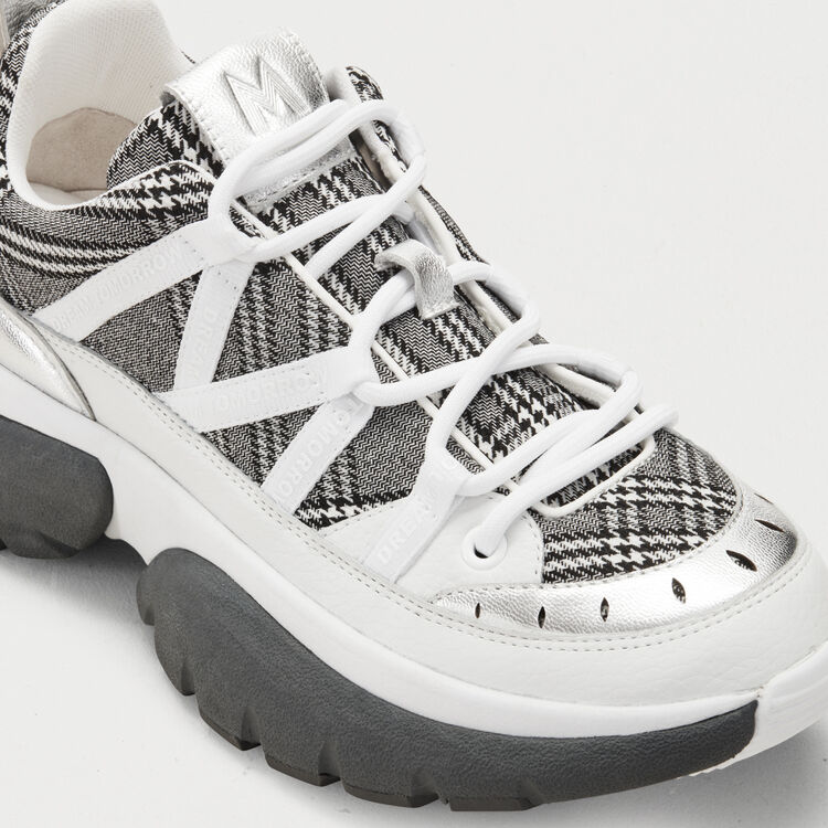 W20 Urban plaid sneakers : Shoes & Accessories color Multico