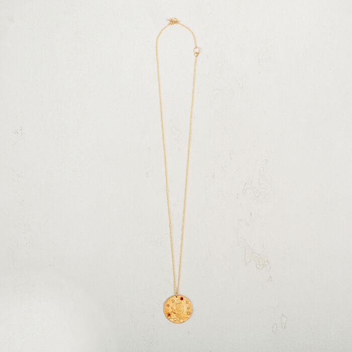Leo zodiac sign necklace -  - MAJE