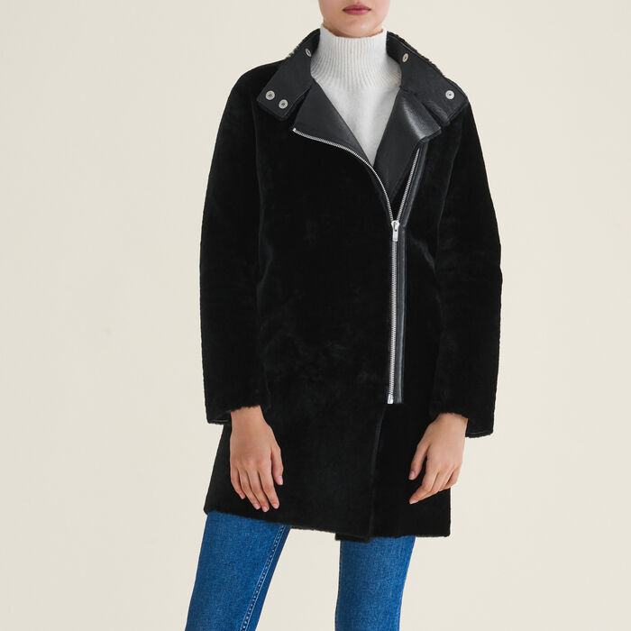 Sheepskin coat : null color