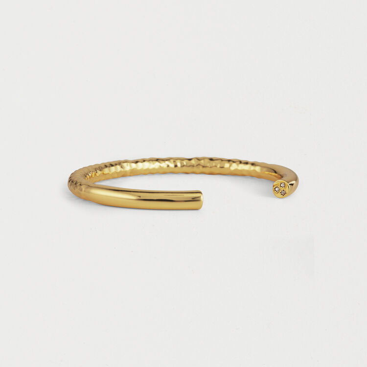 "Wednesday ""Semainier"" Bangle : Shoes & Accessories color GOLD"
