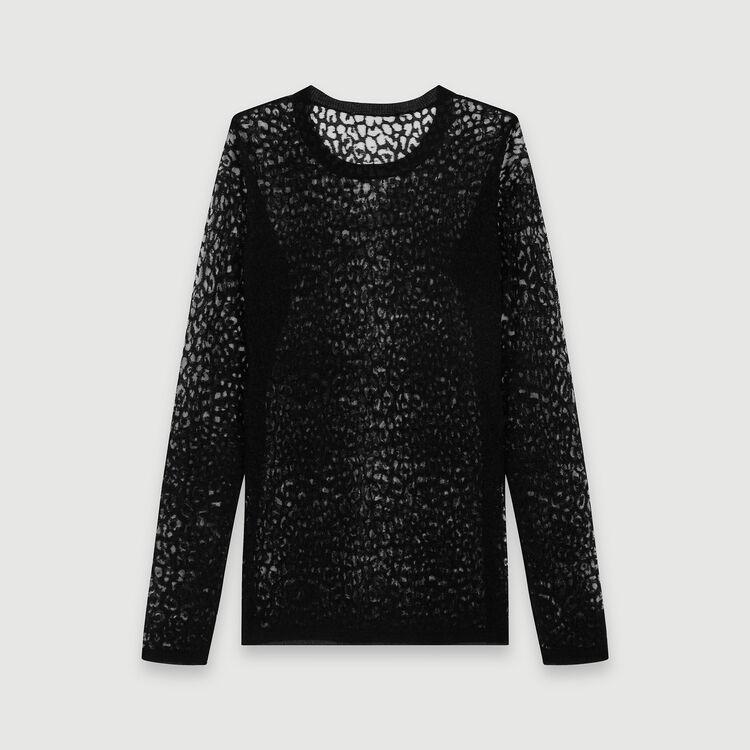 Devore t-shirt : Tops & T-Shirts color Black