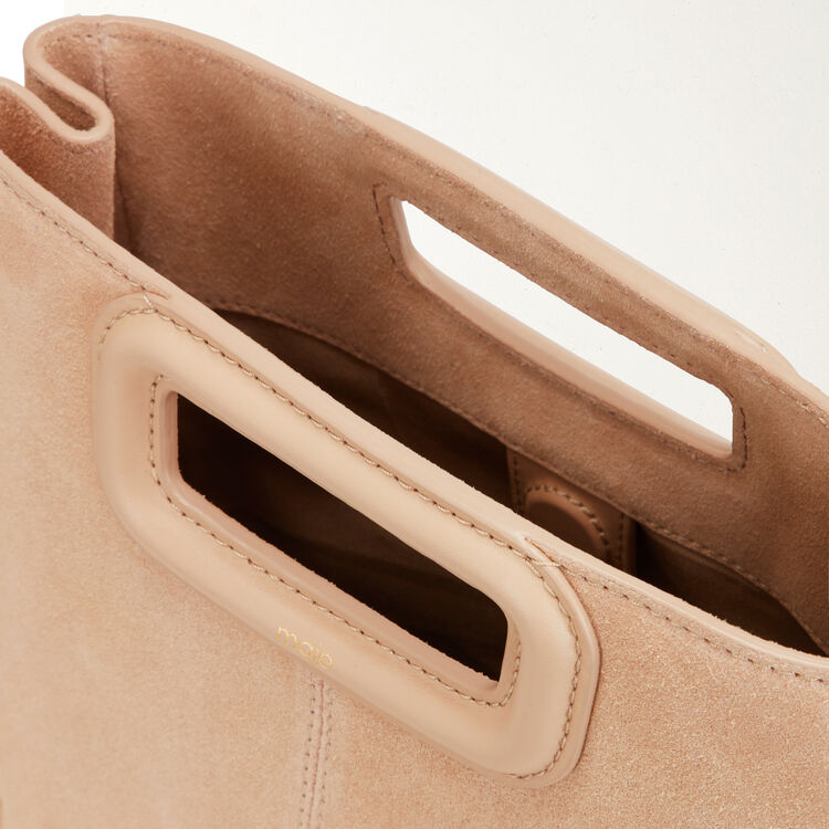 M bag with suede fringes : M Bags color Beige
