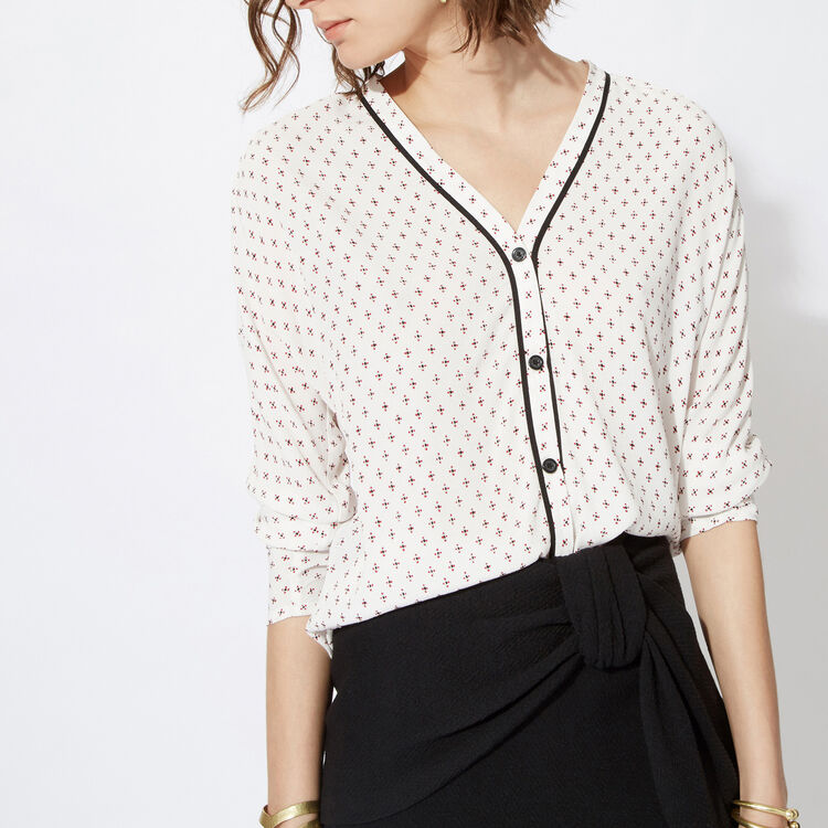 Loose printed shirt : Copy of Sale color