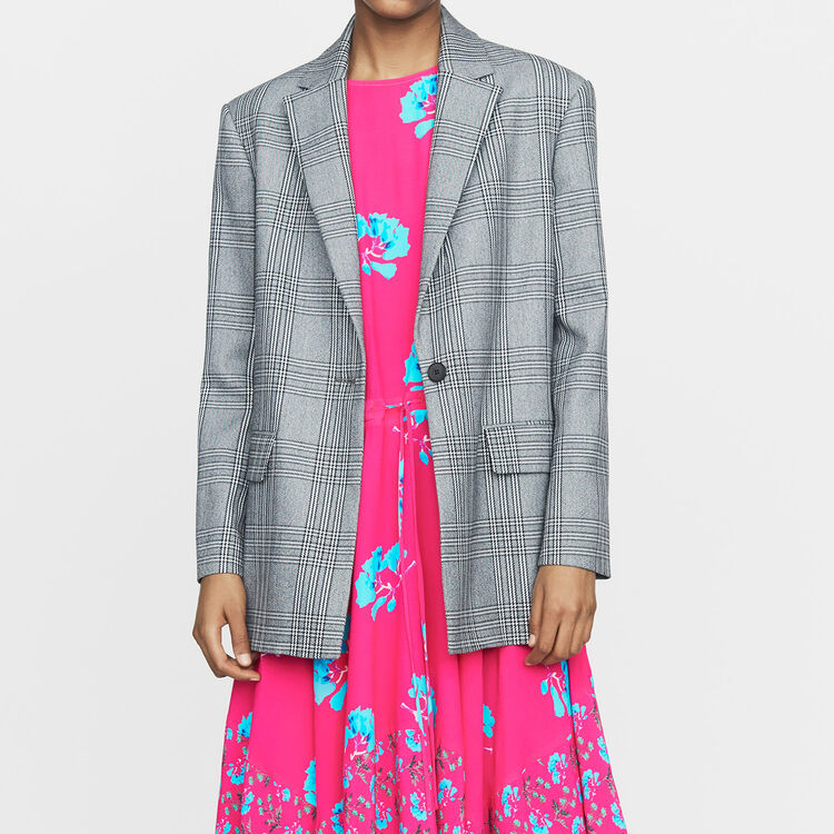 Suit jacket : Coats & Jackets color CARREAUX