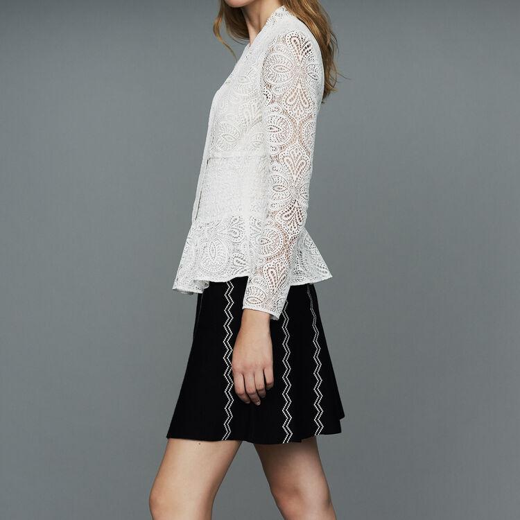 Lace top : Tops & T-Shirts color Ecru