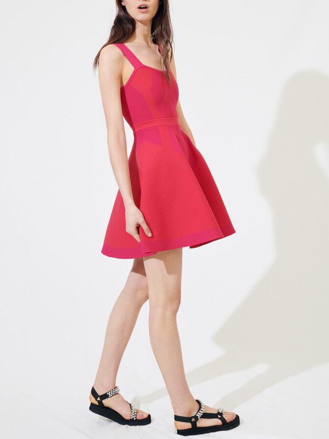 Knit sporty dress - Dresses - MAJE