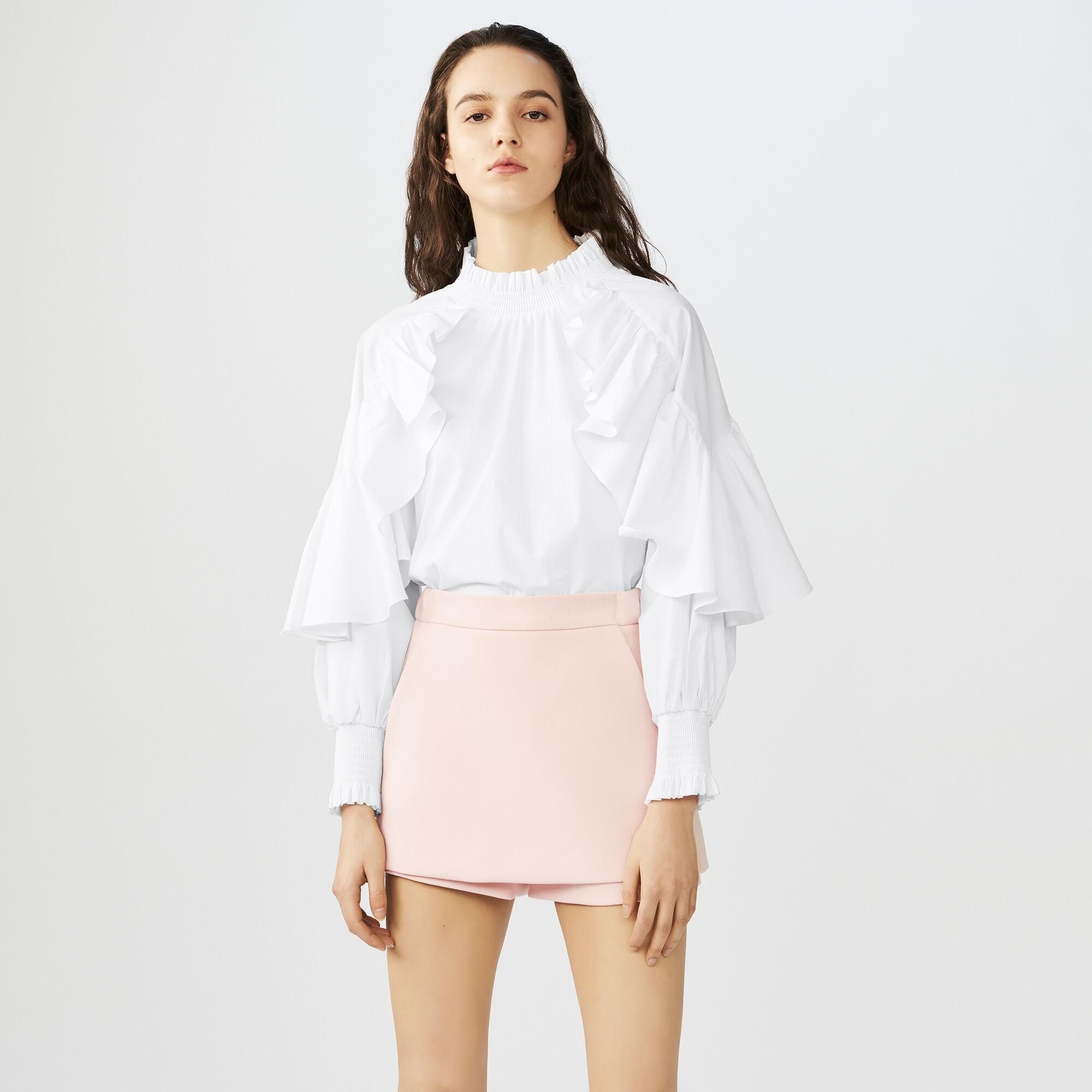 Skirts & Shorts true Crepe skort : Skirts & Shorts color Black 210