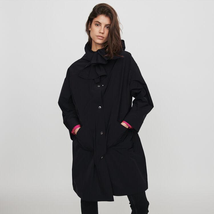 7a795e978 Coats & Jackets true Hooded windbreaker-style parka : Coats & Jackets color  Black