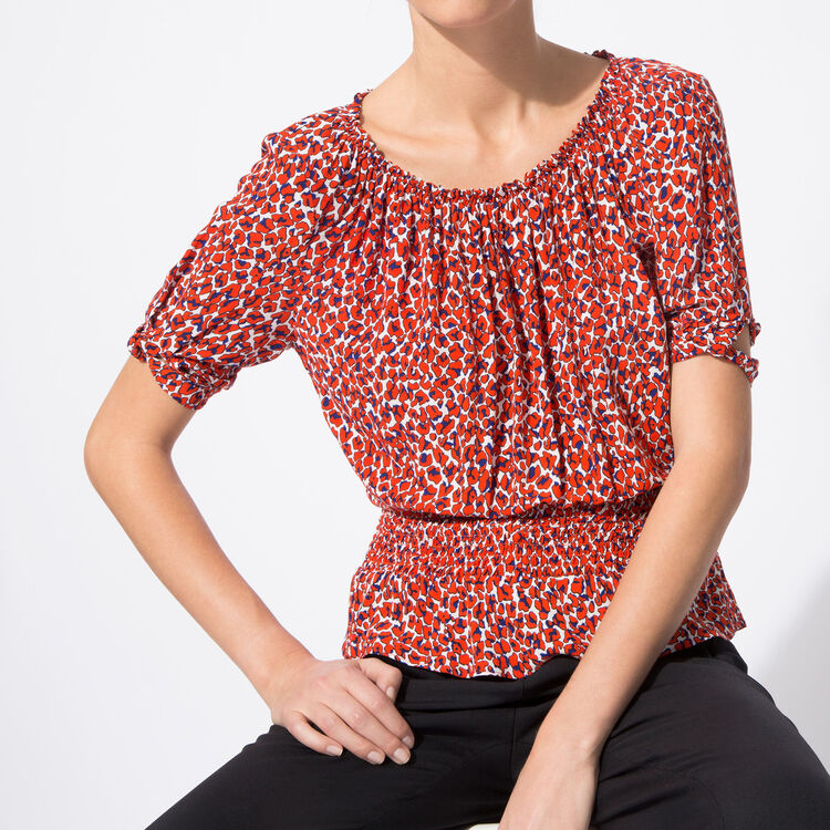Leopard-print top : Spring Summer Precollection color