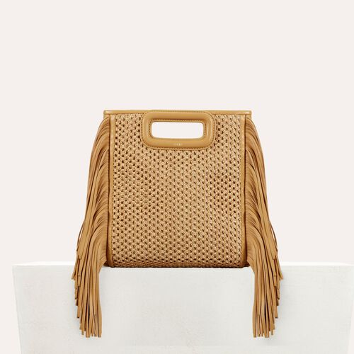 Fringed bag : Handbags & Purses color NATUREL