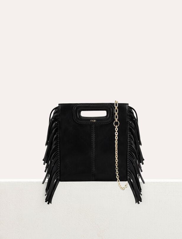 마쥬 M백 미니 MAJE Mini leather M bag