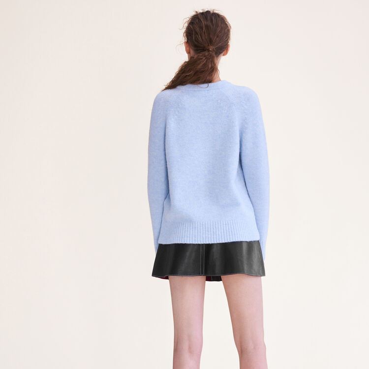 Loose fluffy jumper : null color