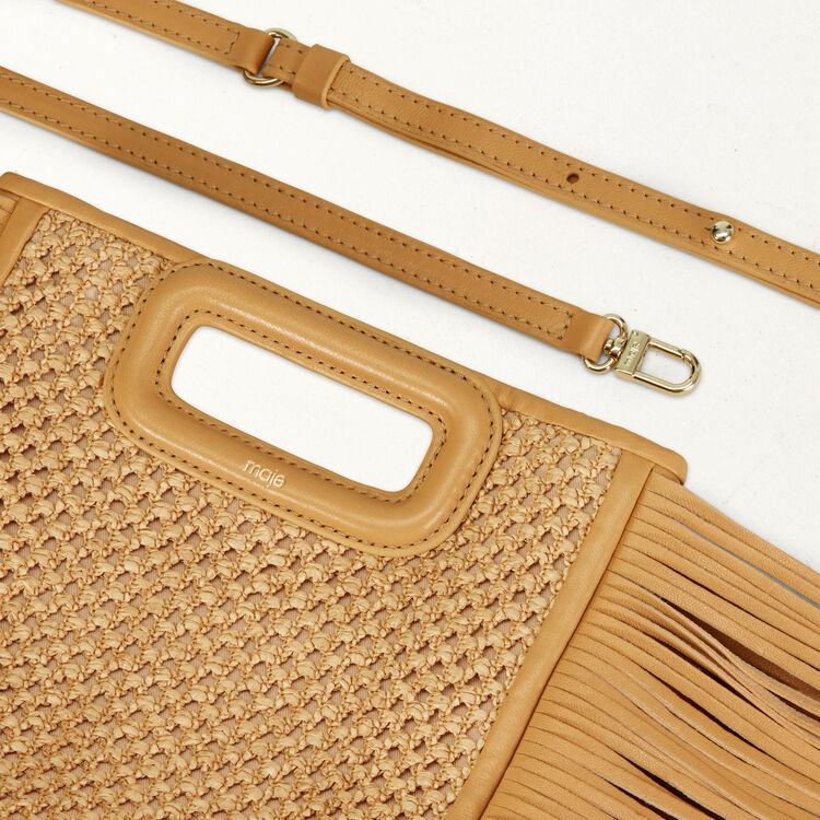 Fringed bag : M Bags color NATUREL