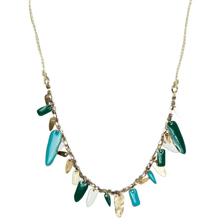 multi-coloured charm necklace : Copy of Sale color