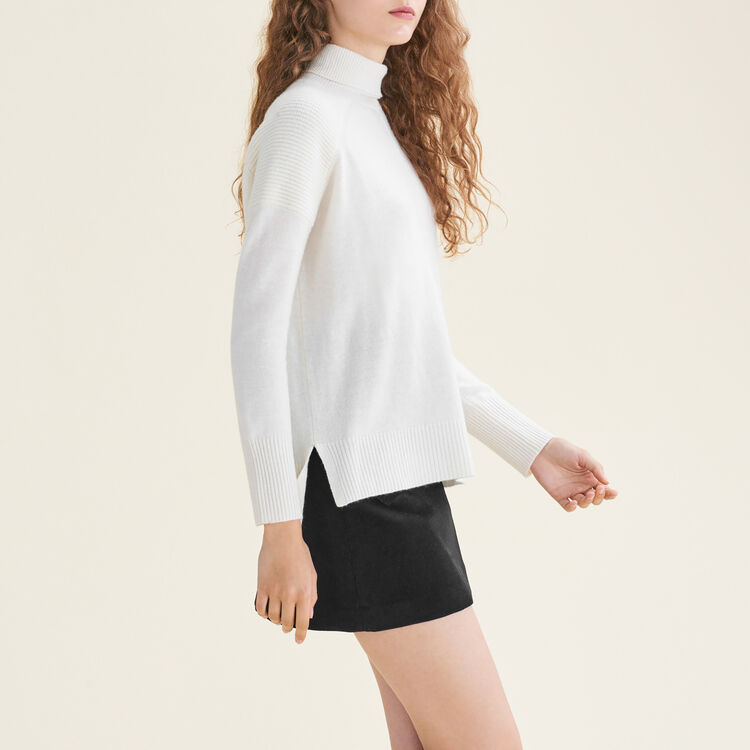 Cashmere roll-neck jumper : null color
