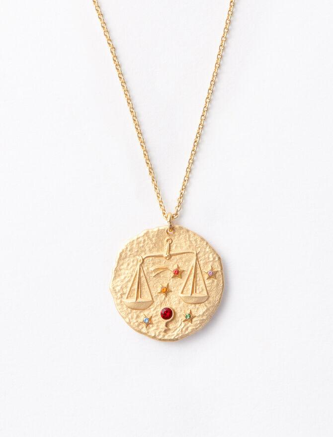 Libra zodiac sign necklace -  - MAJE