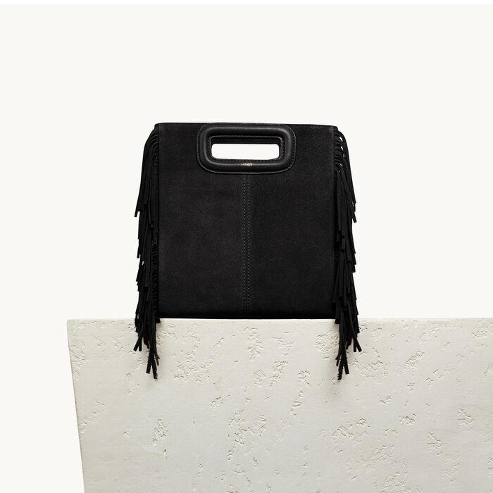 Suede M bag : All bags color Black 210