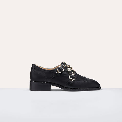 Derbies with studs : Shoes color Black 210