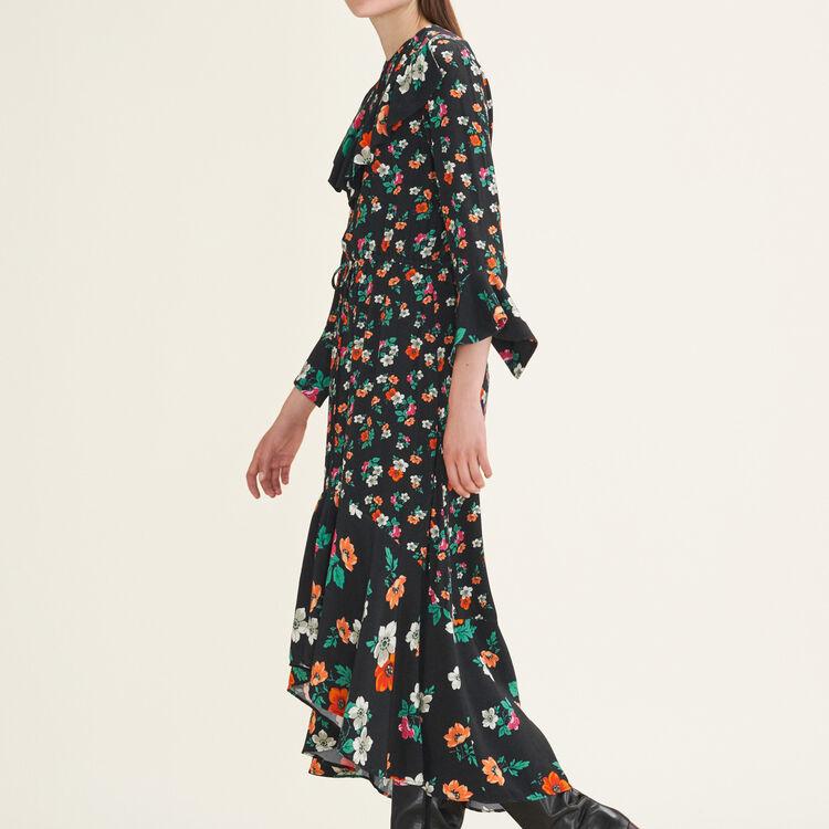Long printed dress : Dresses color Print