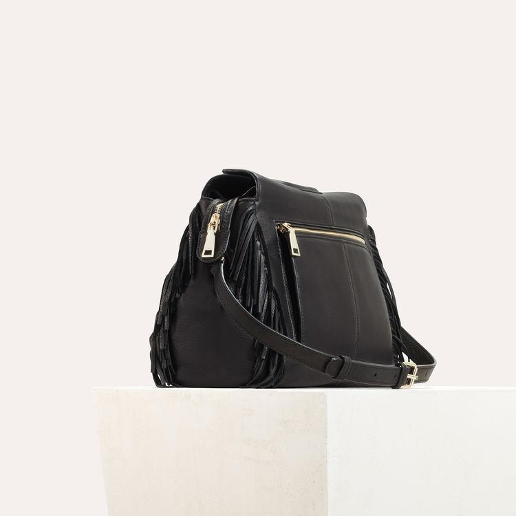 Leather shoulder bag : All bags color Black 210