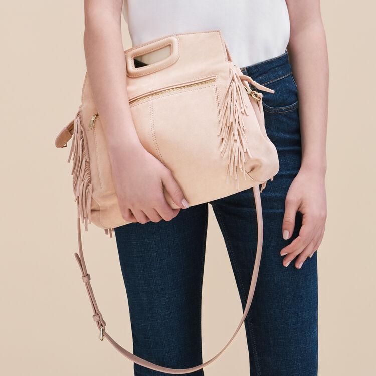 Suede M Walk bag : M Walk color PINK DUNE
