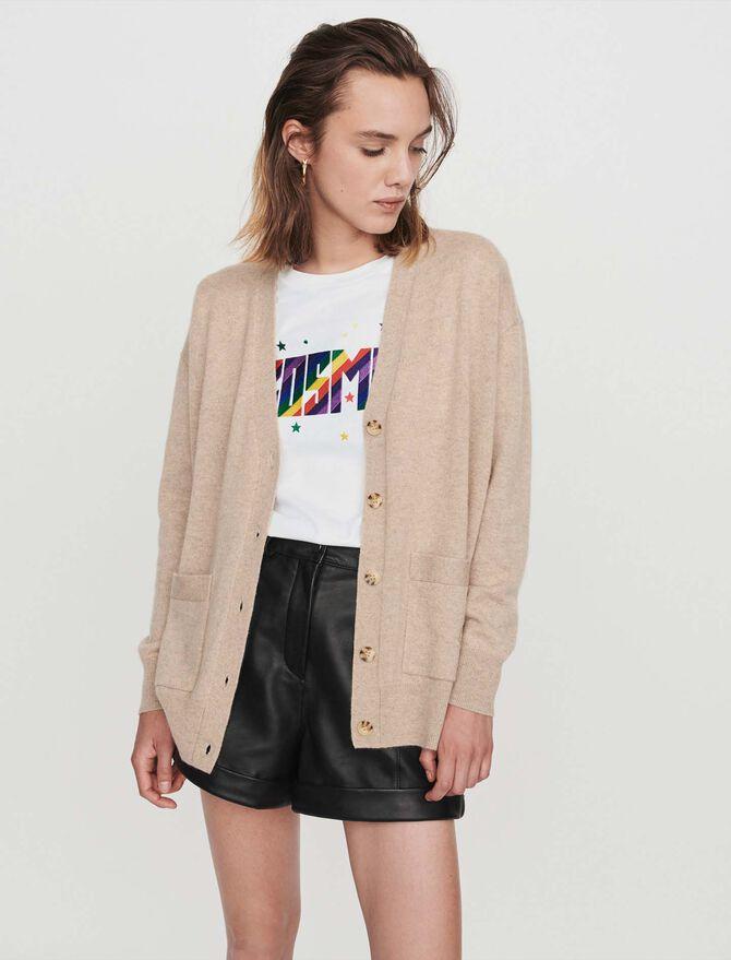 Cashmere cardigan - Sweaters - MAJE
