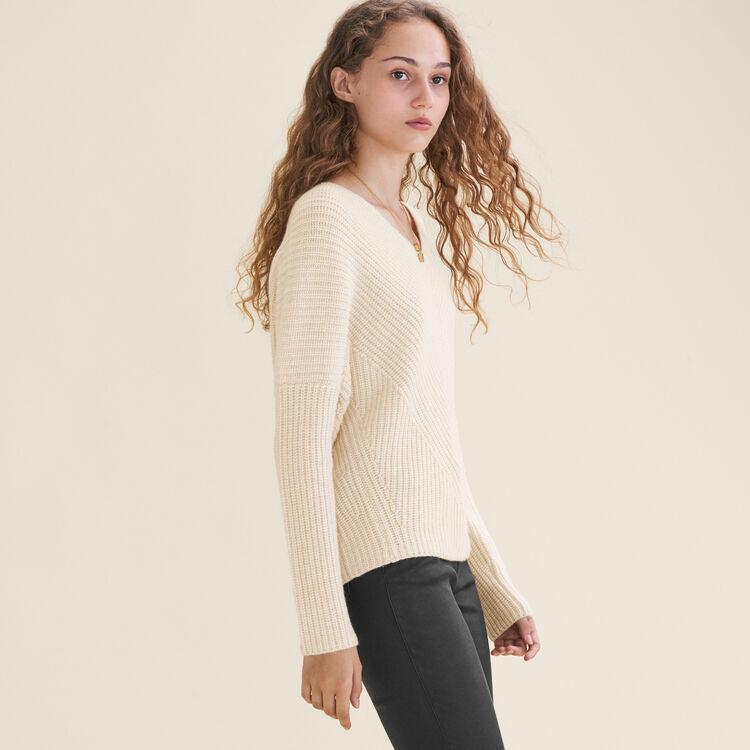 Loose cashmere jumper : null color