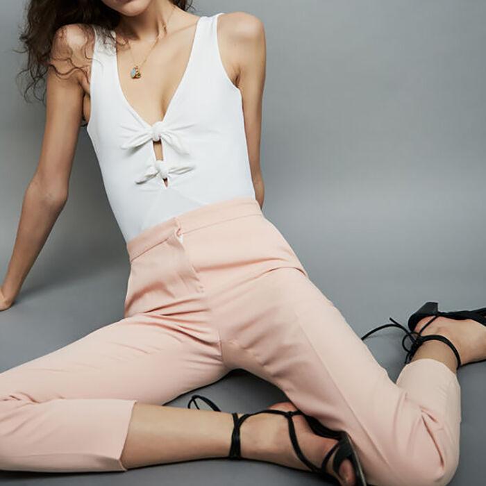 Straight suit pants : Pants & Jeans color Pink