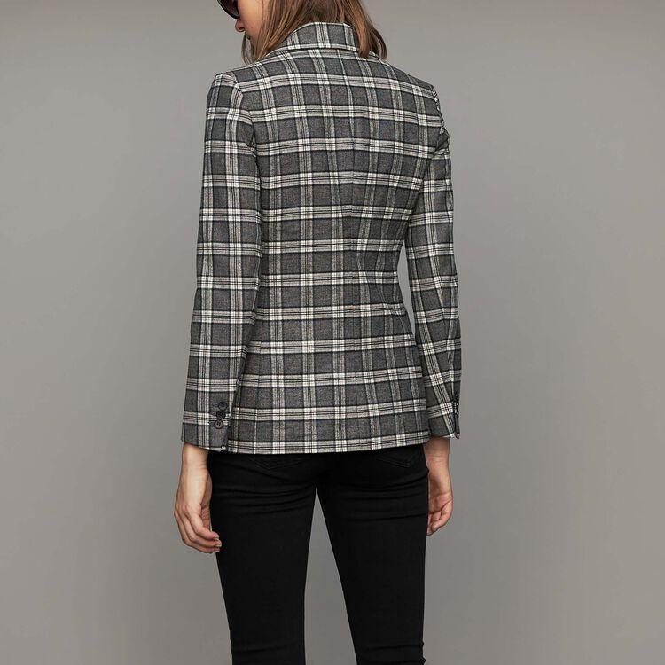 Plaid suit jacket : Coats & Jackets color CARREAUX