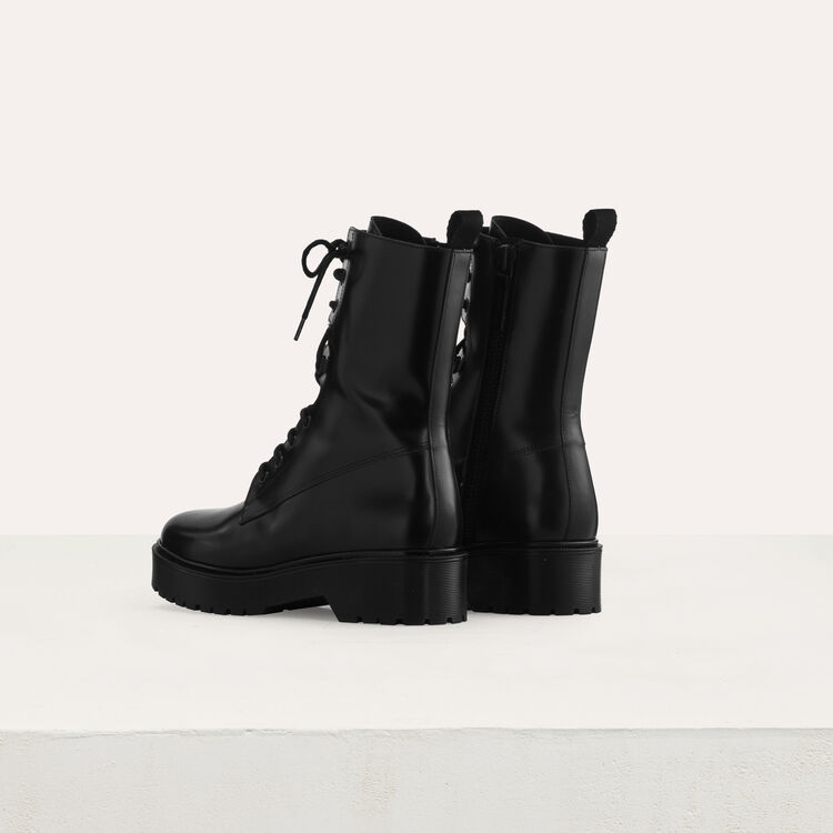 Ranger style boots : Shoes color Black 210