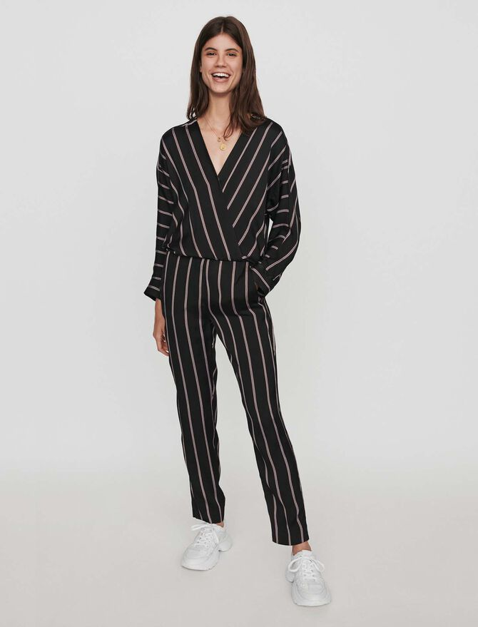 Jumpsuit with pinstripes - Jumpsuits & Rompers - MAJE