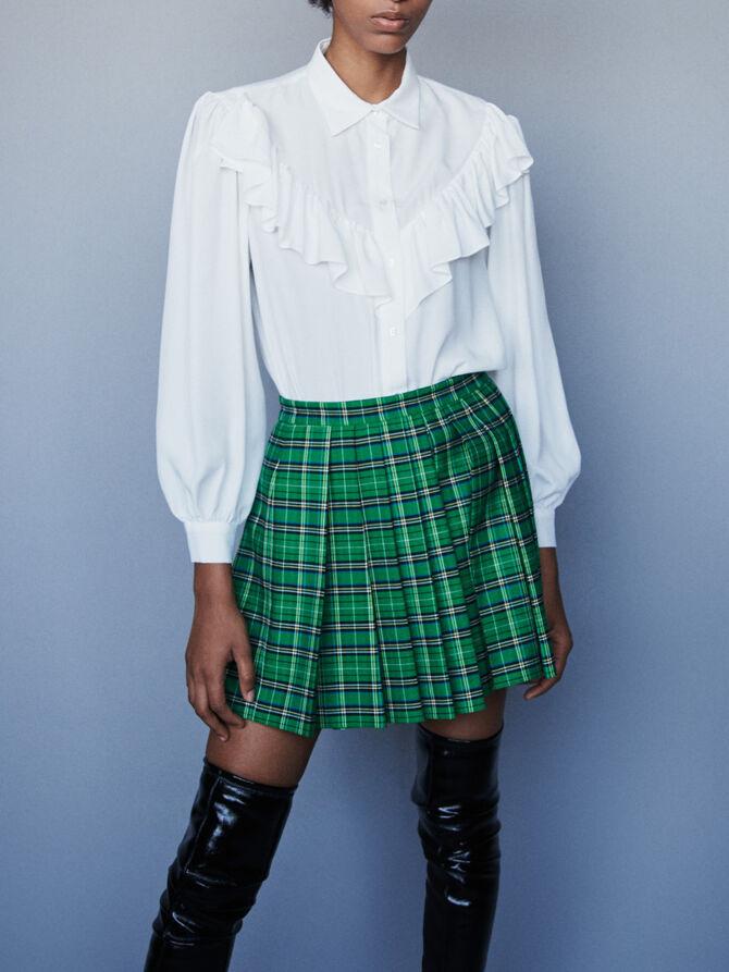 Ruffled shirt - Tops & Shirts - MAJE