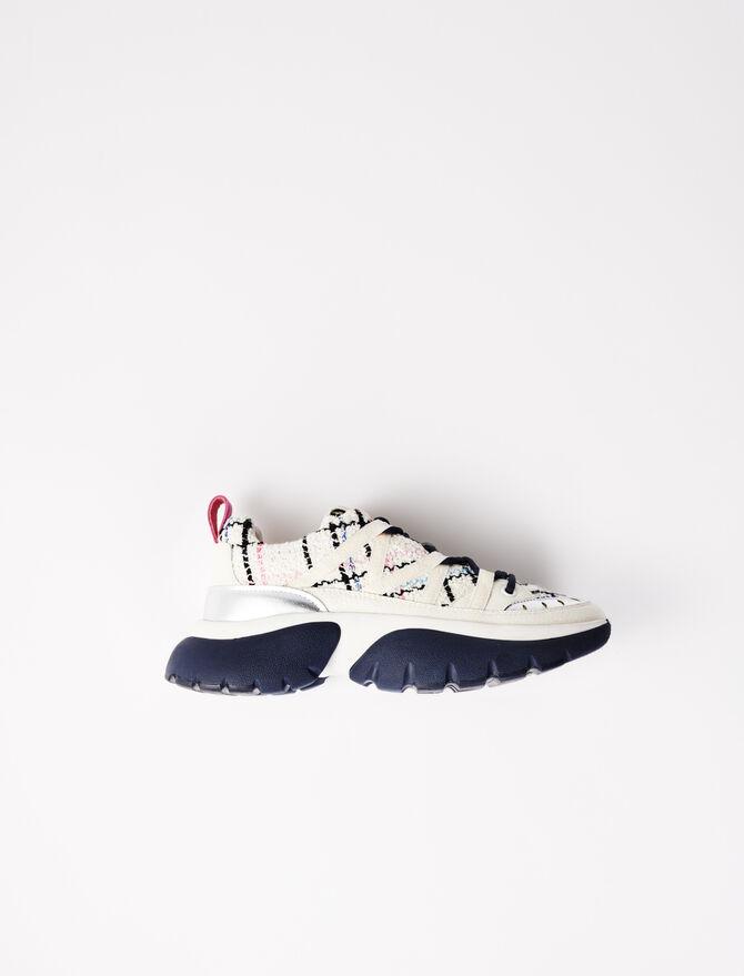 Urban W20 tweed trainers - Sneakers - MAJE