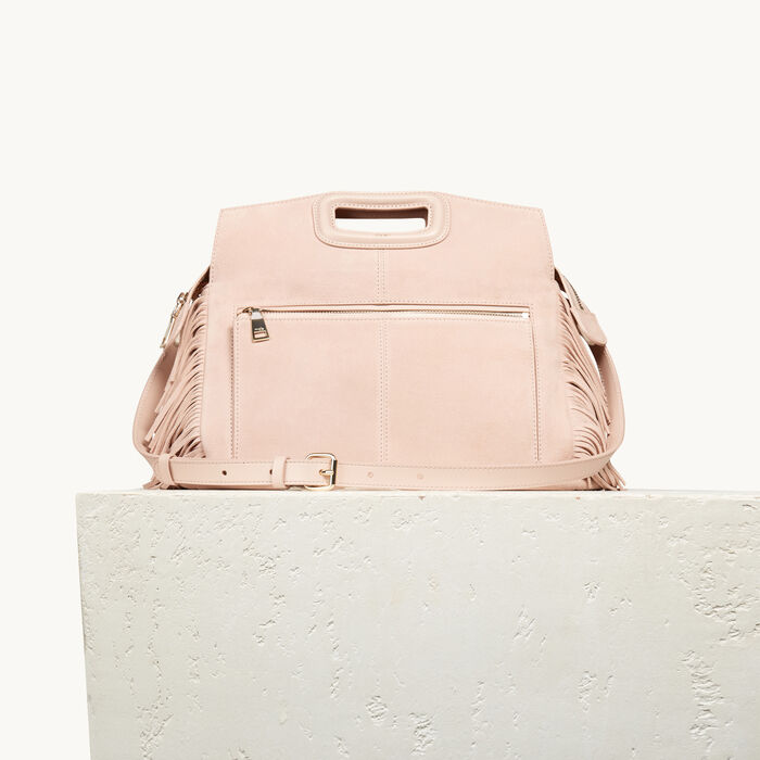 Suede M Walk bag : M Walk color PINK DUNE