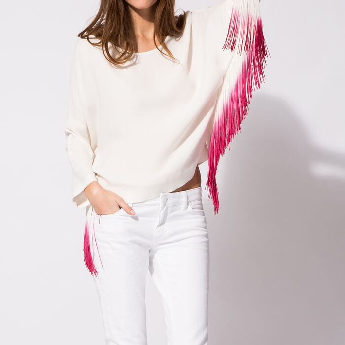 Top with tassels : Spring Collection 2015 color
