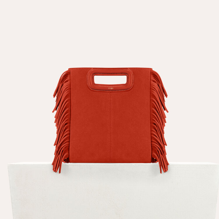 Suede M bag : Shoes & Accessories color Orange