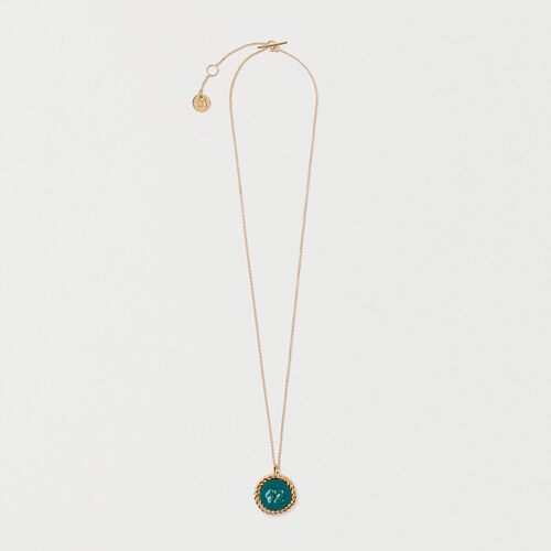 Number 12 medallion : Jewelry color GOLD