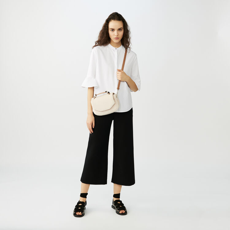 Poplin top : Tops & Shirts color White