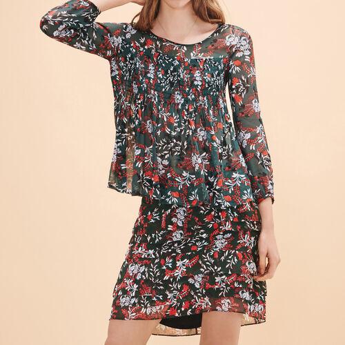 Floral-print top - Tops & Shirts - MAJE