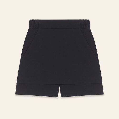 Short 2 in 1 : Skirts & Shorts color Black 210