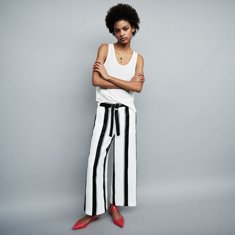 Oversized striped pants : Pants & Jeans color Stripe
