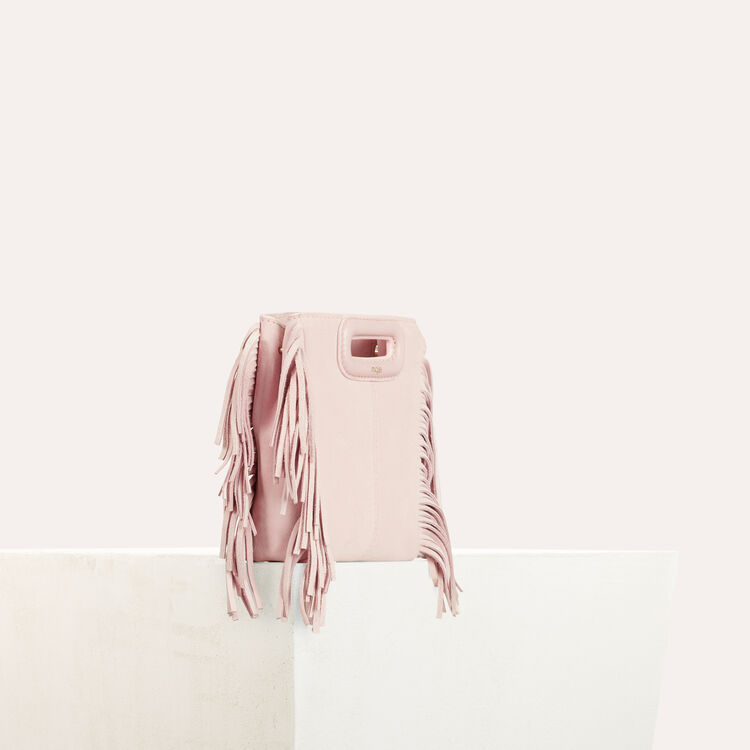 M mini-bag with chain : M Mini color Nude