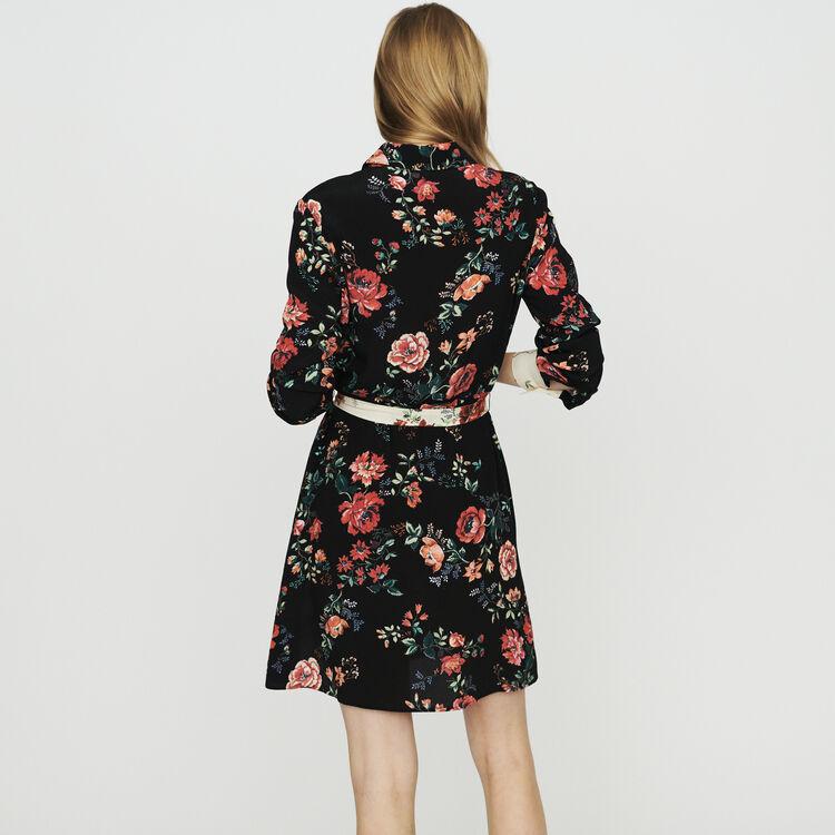 Floral print shirt dress : Dresses color PRINTED
